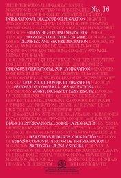 the International Organization for Migration. - IOM Publications ...
