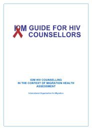 IOM Guide for HIV counsellors - IOM Publications - International ...
