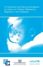 A Framework and Recommendations for Action on Children Affected ...