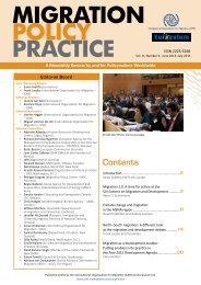 MIGRATION POLICY PRACTICE - ReliefWeb