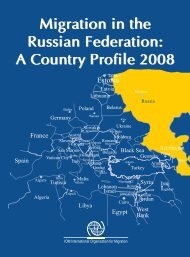 Migration in the Russian Federation: A Country Profile 2008 - EU ...