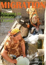 Adapting to Climate Change - IOM Publications - International ...