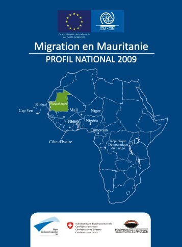 Migration en Mauritanie Migration en Mauritanie - IOM Publications ...