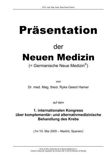 Zusammenfassende Präsentation der GNM