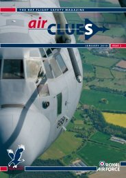 The RAF FlighT SAFeTy MAgAzine - Royal Air Force