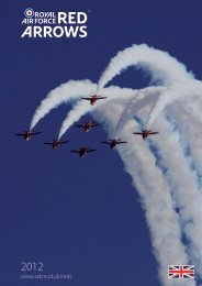 The Red Arrows - Royal Air Force