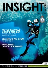 RAF Waddington Insight Magazine - Royal Air Force
