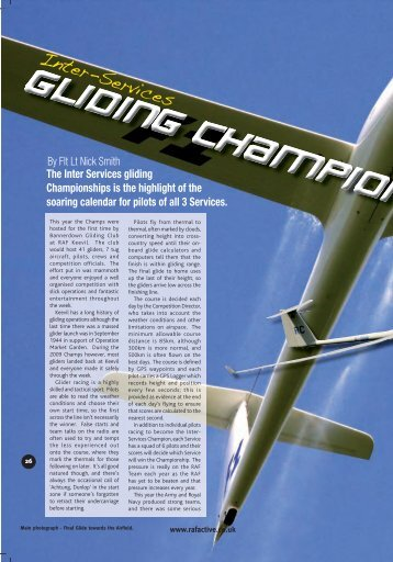 Inter-Services Gliding Champs