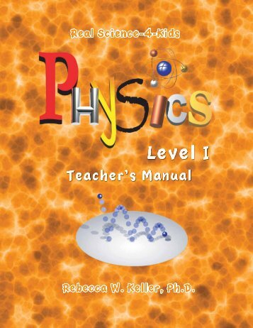 Download a Level 1 Physics PDF Teacher Sample - Rainbow ...