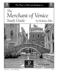 THE MERCHANT OF VENICE - Bgawebsites org