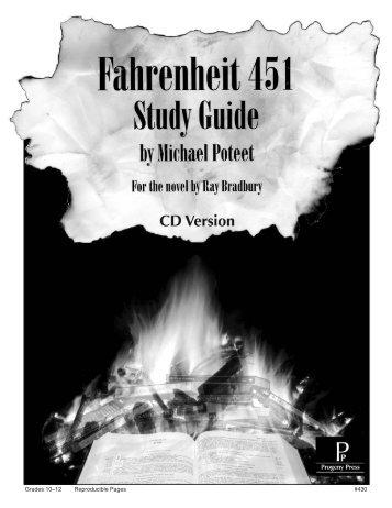 Fahrenheit 451 - Progeny Press