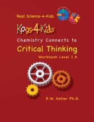 Download a Chemistry Kogs Critical Thinking PDF Sample