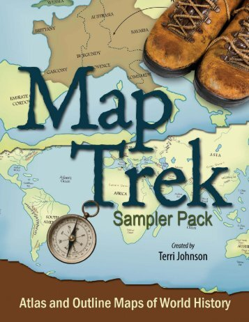 Atlas and outline maps of world history knowledge quest map trek samplerdd knowledge quest sciox Images