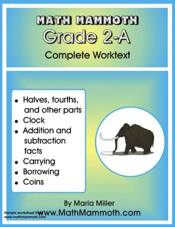 The EASY way to subtract Lesson and Worksheet - Guest Hollow