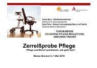 Zerreißprobe Pflege - bei der Arbeitnehmerkammer Bremen