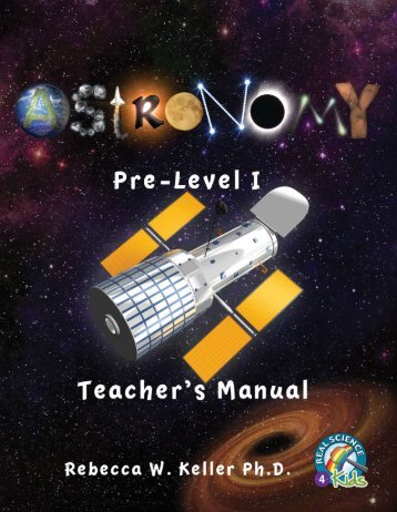 Download a Pre-Level 1 Astronomy Teacher Manual PDF Sample