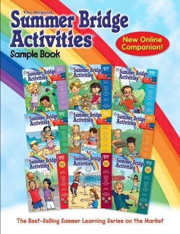 Summer Bridge Sample Book