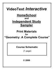Download a PDF Geometry Schematic - Rainbow Resource Center