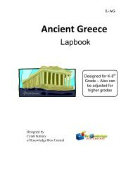 Download a Sample of Ancient Greece - Rainbow Resource Center