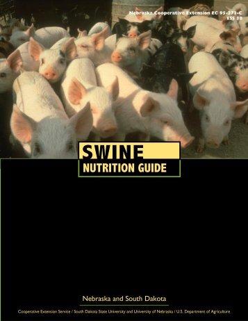 Swine Nutrition Guide - The Risk Assessment Information System