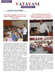 VATAYANI March Edition 2013 - GH Raisoni College Of ...