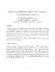 High-order finite element discretization for the compressible Euler ...