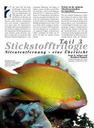 Stickstofftrilogie: Nitratentfernung - Aquacare Gmbh & Co. KG
