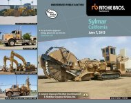Sylmar - Ritchie Bros. Auctioneers