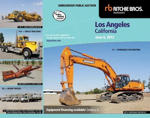 los angeles - Ritchie Bros. Auctioneers