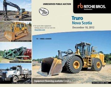 nova scotia - Ritchie Bros. Auctioneers