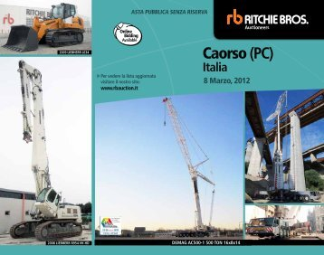 Caorso (PC) - Ritchie Bros. Auctioneers