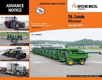 st. louis - Ritchie Bros. Auctioneers