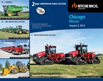 4wd agricultural tractors - Ritchie Bros. Auctioneers