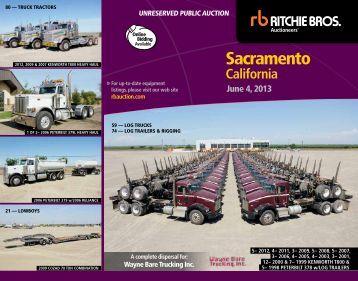 sacramento - Ritchie Bros. Auctioneers