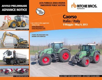 Caorso - Ritchie Bros. Auctioneers
