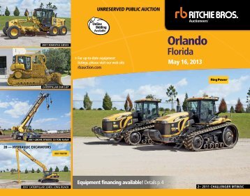 orlando - Ritchie Bros. Auctioneers