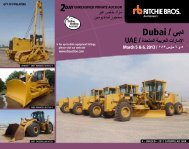 Dubai / ﻲﺑد - Ritchie Bros. Auctioneers