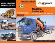 Moncofa - Ritchie Bros. Auctioneers