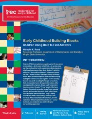 Early Childhood Building Blocks Children Using Data to Find Answers