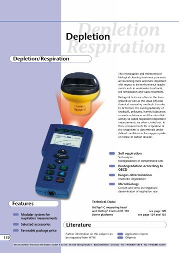 Depletion Respiration - Aquacare Gmbh & Co. KG