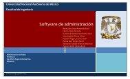 Software de administración - Lab. Redes y Seguridad