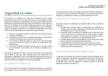Elaboró: Ing. Ma. Eugenia Macías Ríos - Lab. Redes y Seguridad