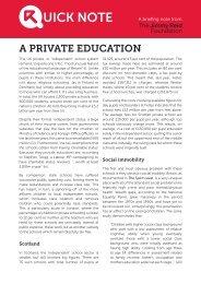 UICK NOTE - The Reid Foundation