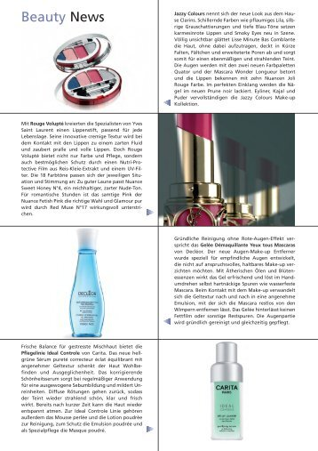Beauty News - Relaxed