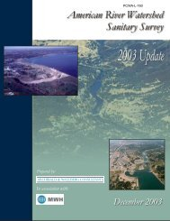 2003 Update - Middle Fork American River Project Relicensing ...