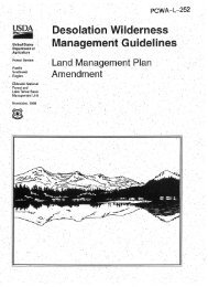 esolatio.h.' 'lld:erness' ManagemeritGuidelineS - Middle Fork ...