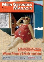 Mein Gesundes Magazin 2/2009 - Arbeitskreis Gesundheit eV