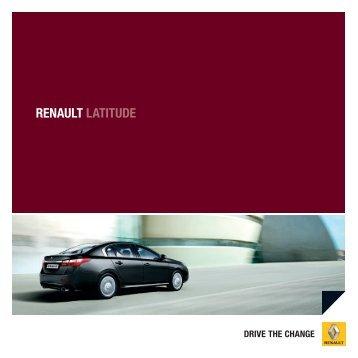 Latitude A.pdf - Renault Preislisten