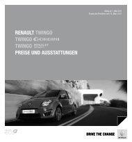 Renault twingo twingo twingo PReise und ausstattungen - Autohaus ...
