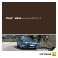 RENAULT LAGUNA & LAGUNA GRANDTOUR - RENAULT Griesel